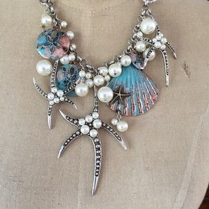 Sea Themed Charms Necklace